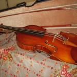 ヴァイオリンの弓の持ち方