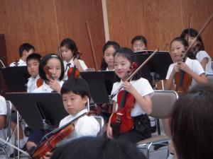 子供オーケストラ