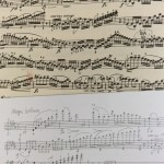 ヴァイオリンの暗譜