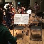 本番間近のオーケストラ練習
