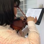 ヴァイオリンの重音奏法