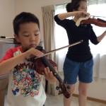 親子でヴァイオリンアンサンブル