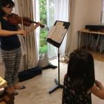 ヴァイオリンのステージマナー