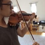 ヴァイオリンをもう一度♫