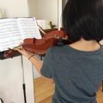 静かに始まるヴァイオリン曲の弾き方