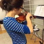 毎日ヴァイオリン弾いています☺