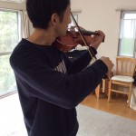 ヴァイオリンの移弦