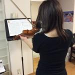 ヴァイオリンのボーイング