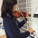 ヴァイオリンで歌うように