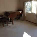 年末年始のヴァイオリンレッスン室
