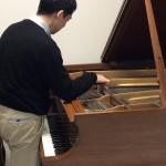 ピアノの調律しました♪