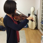 ヴァイオリンの上手な練習