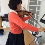 ヴァイオリンのボーイング「指弓」
