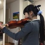 ヴァイオリン弾きましょう♫