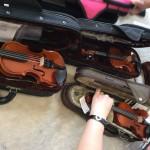 ヴァイオリン試奏
