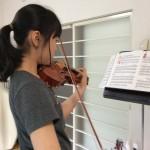 ヴァイオリンを鳴らすには