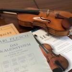 ヴァイオリンの朝練の後に