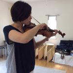 ヴァイオリンの読譜を