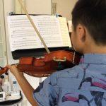 自分で出来るヴァイオリン練習を