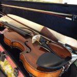 スキマ(隙間)時間にヴァイオリン練習