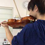 ヴァイオリンのサウンディング ポイント