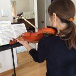 ヴァイオリンレッスン再開♫