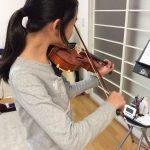 ヴァイオリン左指の「トンネル」