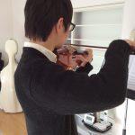 ヴァイオリンの左指の押さえ方で