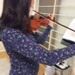 ヴァイオリンでオーケストラに