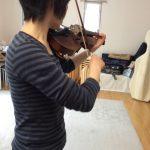 ヴァイオリン練習は「カラオケ店」で