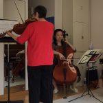 ヴァイオリン&チェロでアンサンブル