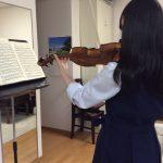 学校のオーケストラで