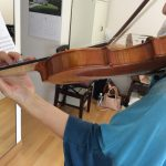 6月のヴァイオリン