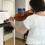親子でヴァイオリン