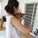 ヴァイオリンの左手指の押さえ方