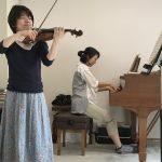 ヴァイオリン&ピアノの合わせ