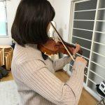 (ヴァイオリンの)弓が震えてしまう時