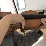 ヴァイオリンの基礎力アップ「弓を持つ手」