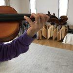 ヴァイオリンの音程