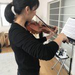 ヴァイオリンの運弓は