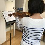 ヴァイオリンの「デタシェ」