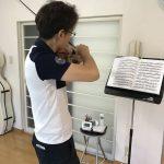 ヴァイオリンの重音チャレンジ