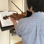 ヴァイオリンの肩当て