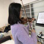 ヴァイオリン曲の音程を