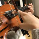 ヴァイオリンのピチカート