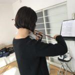 ヴァイオリン音階練習