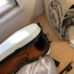 オリジナルのヴァイオリンケース