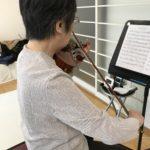 ヴァイオリンの弓使い