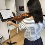 ヴァイオリンのチューニング