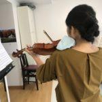 ヴァイオリンの左手首